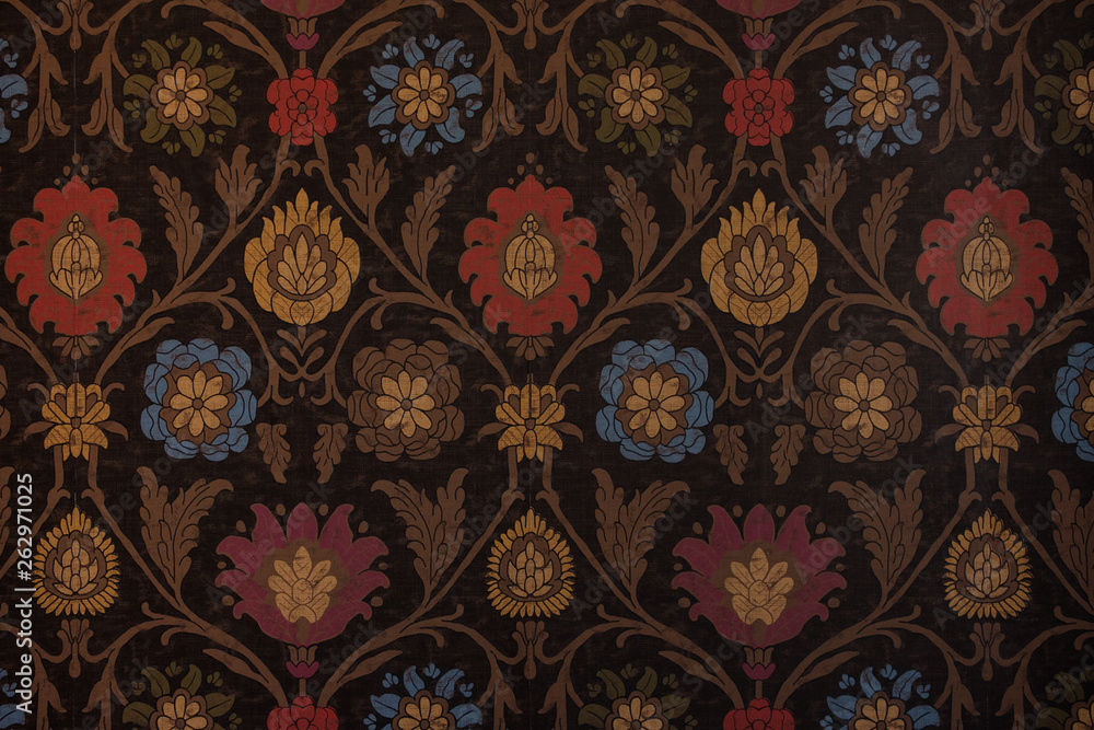 Background from a flower ornament