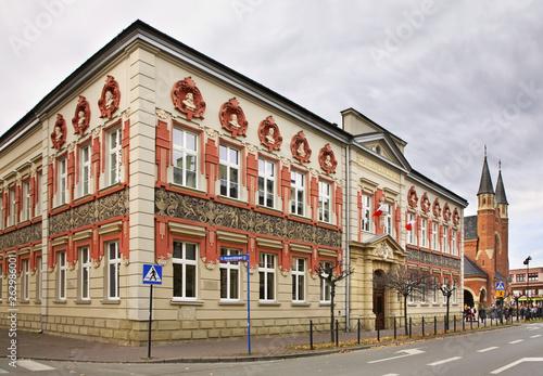 View of Nowy Sacz. Poland - fototapety na wymiar