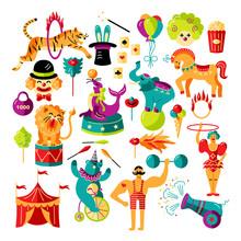 Circus. Vector Illustration Se...