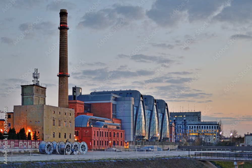Fototapeta EC-1 - Łódź, Polska
