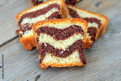Vászonkép cake marbré