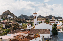 Rustic Town In Spanish Mountains