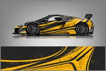 Car Decal Wrap Design Vector. ...