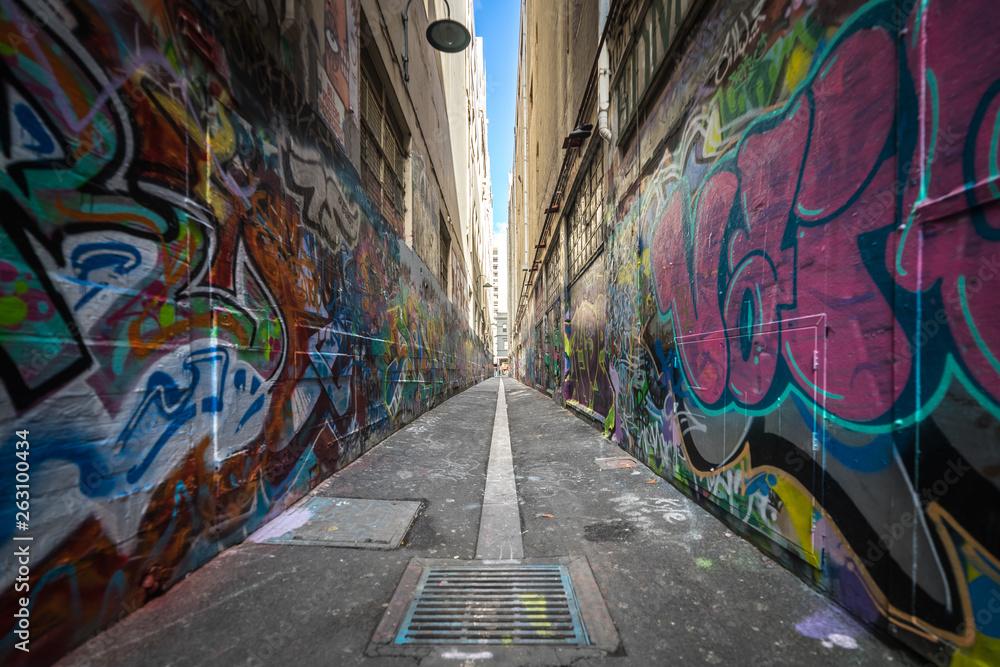 sztuka uliczna w Melbourne