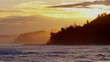 Hawaii sunset Pacific energy surfing tropical tide water