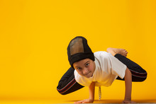 Happy Little Hip Hop Dancer - ...