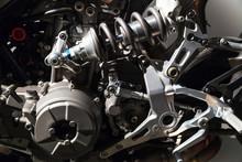 Luxury Motorcycle Fragment, Engine