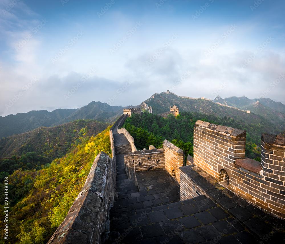 Chinese Architecture Jinshanling Great Wall