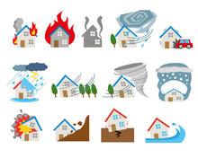 自然災害 イメージ 住宅 保険 マイホーム
