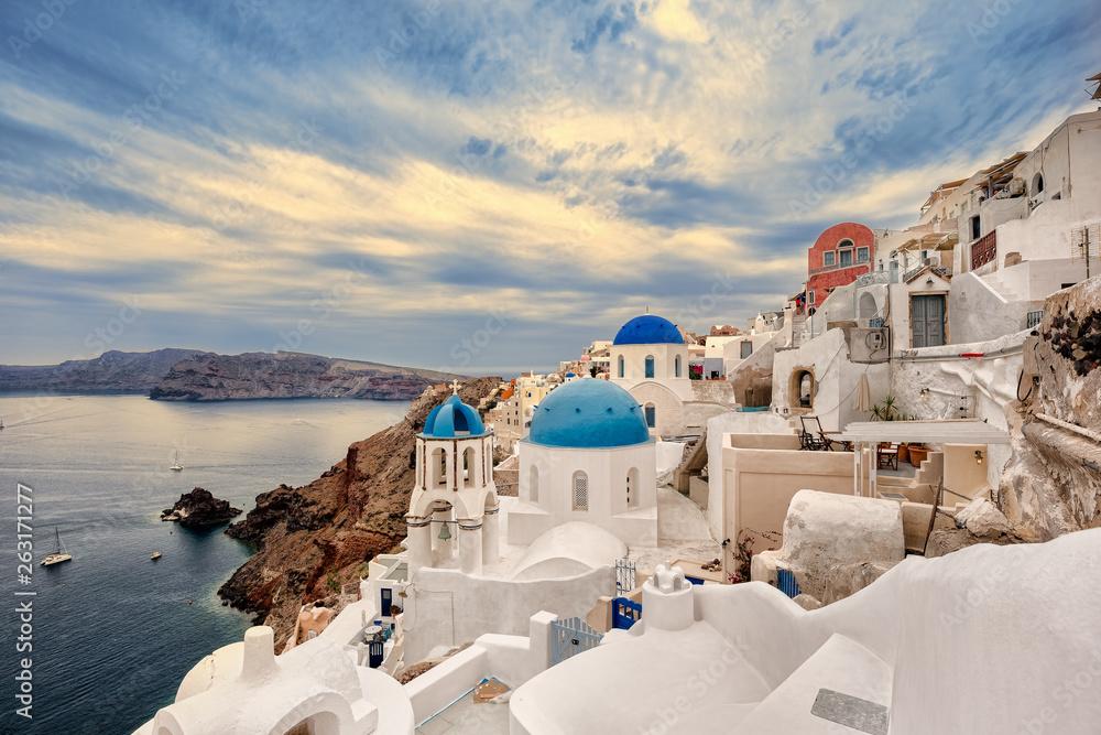 Fototapety, obrazy: Oía, Santorini, Greece