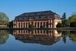 Morgenstimmung an der Orangerie in Darmstadt, Hessen, Deutschland