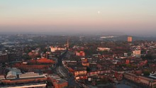 Dudley Town Centre UK Aerial W...