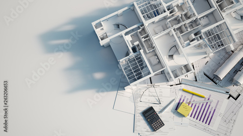 Apartment building project overview