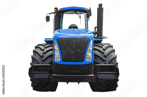 Obraz na plátně Agricultural tractor ( front view )