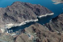 Hoover Dam, Colorado River, Ae...