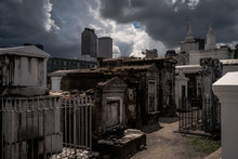 Old Cemetery In New Orleans, Louisiana