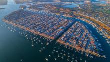 Balboa Island Aerial