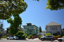 Spring Impressions From Berkeley Near San Francisco And Oakland In Alameda County On May 3, 2017, California USA