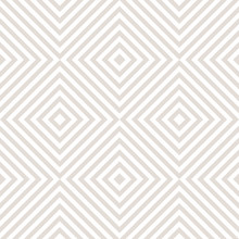 Vector Geometric Seamless Pattern With Squares, Stripes, Diagonal Lines, Repeat Tiles. Subtle Abstract Texture. Delicate White And Beige Background. Simple Design For Decor, Prints, Textile, Wallpaper
