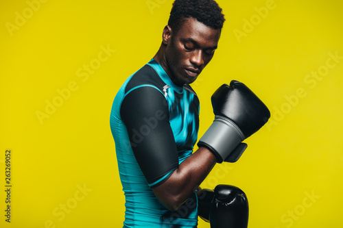 Poster de jardin Kiev Boxing practice