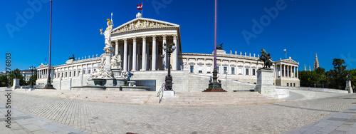 Cuadros en Lienzo Österreichisches Parlament mit Pallas Athene
