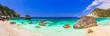 Best beaches of Greece - Myrtos in Kefalonia, ionian islands