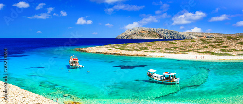 Turquoise crystal beaches of Greece - koutsomytis in Astypalea island
