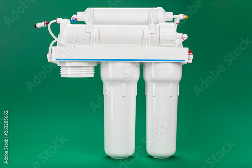 Fotografie, Obraz  water filter without one cartridge