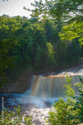 Photo Stands Dark grey Tahquamenon Falls, Tahquamenon Falls State Park, Michigan