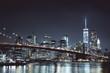 Night New York skyline