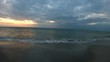 Panoramic view of a scenic sunset in Naples shore. Florida, USA