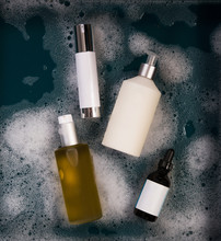 Spa Products In Sudsy Water