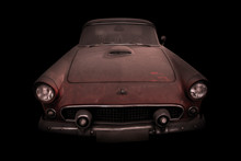 Auto Retro Ford Thunderbird, 1...