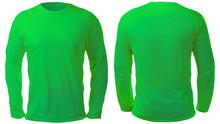 Green Long Sleeved Shirt Desig...