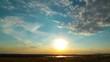 sunset. 4K. FULL HD 4096x2304.