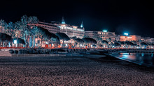 Cannes By Night View From The ...
