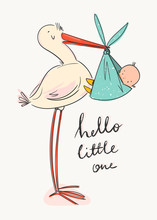 Hello Little One. Cartoon Stor...