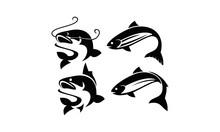 Fish Vector Logo Set