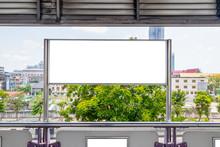 Billboard Or Empty Poster Adve...