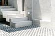 concrete stair step