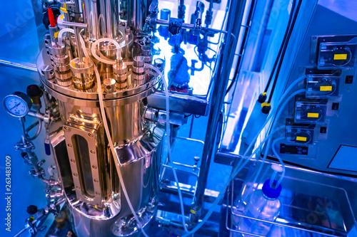 Fotografía  Bioreactor for microbiology
