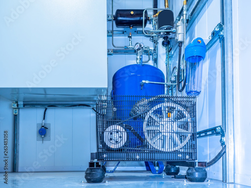 Valokuva  Compressor installation
