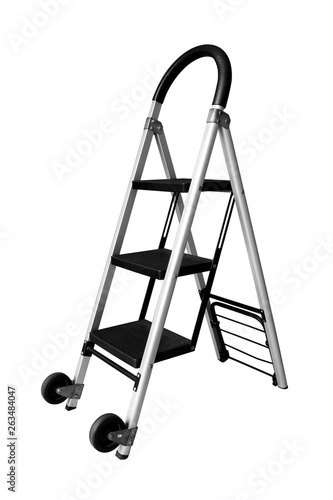 Fotografía  ladder isolated on white