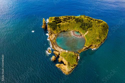 Vue aerienne Die Azoren aus der Luft - Sao Miguel - Heisse Quellen, Gärten, Sen und Landschaften aus der Luft