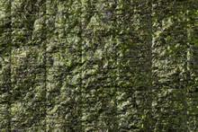 Sheet Of Dried Green Nori
