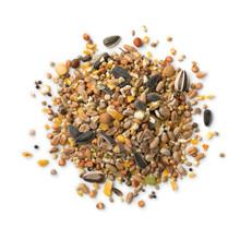 Heap Of Bird Food Mixture