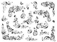 Vintage Floral Decoration Coll...