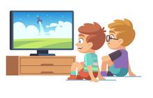 Kids Watch Tv. Children Movie ...