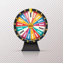 Wheel Fortune. Casino Prize Lu...