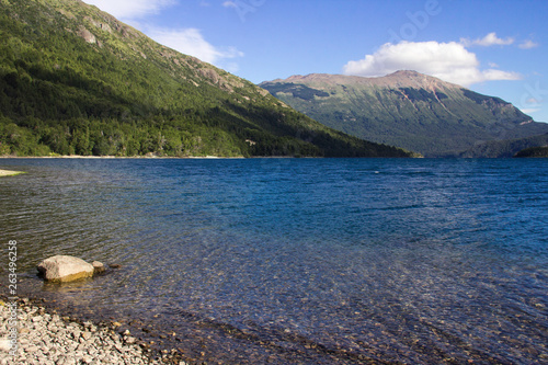 Lago Futalaufquen, Chubut Canvas Print